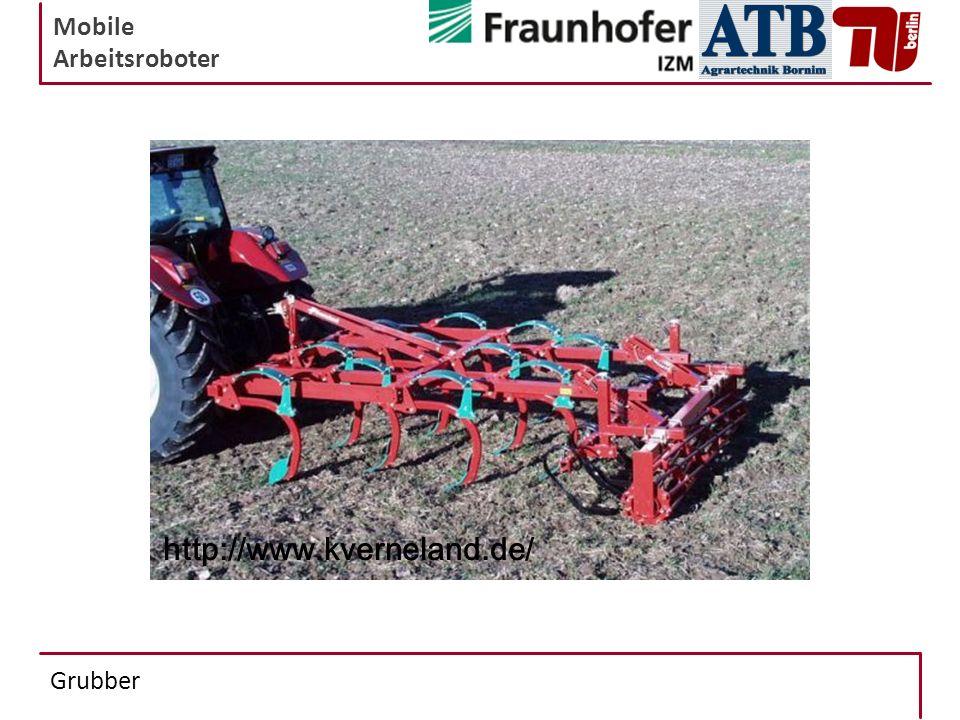 Mobile Arbeitsroboter Grubber http://www.kverneland.de/