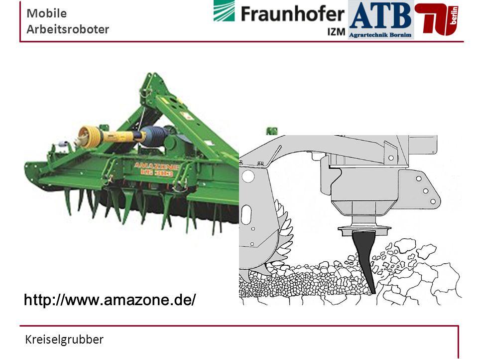 Mobile Arbeitsroboter Kreiselgrubber http://www.amazone.de/