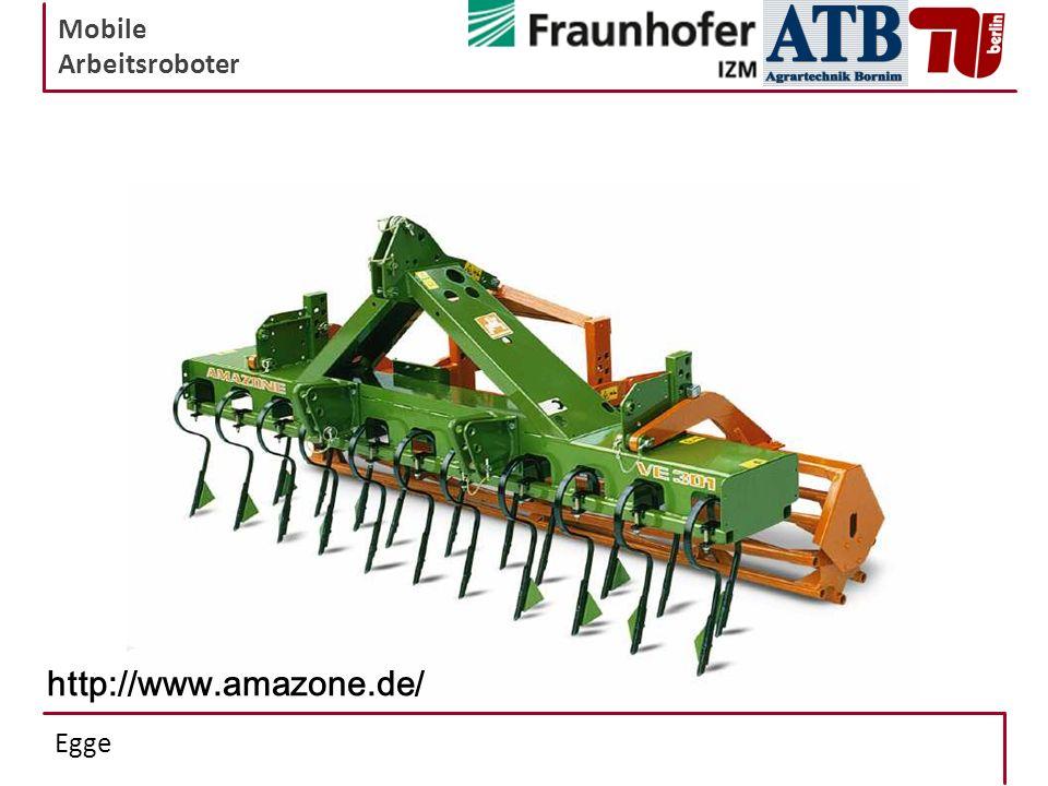 Mobile Arbeitsroboter Egge http://www.amazone.de/