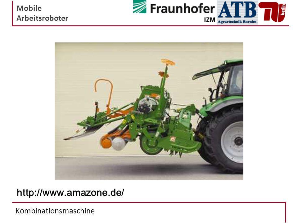 Mobile Arbeitsroboter Kombinationsmaschine http://www.amazone.de/