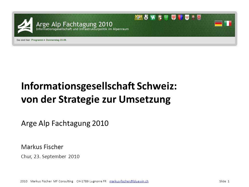 2010 Markus Fischer MF Consulting CH-1789 Lugnorre FR markus-fischer@bluewin.chSlide 22markus-fischer@bluewin.ch Die SuisseID: qualifizierte Signatur (Dokument)