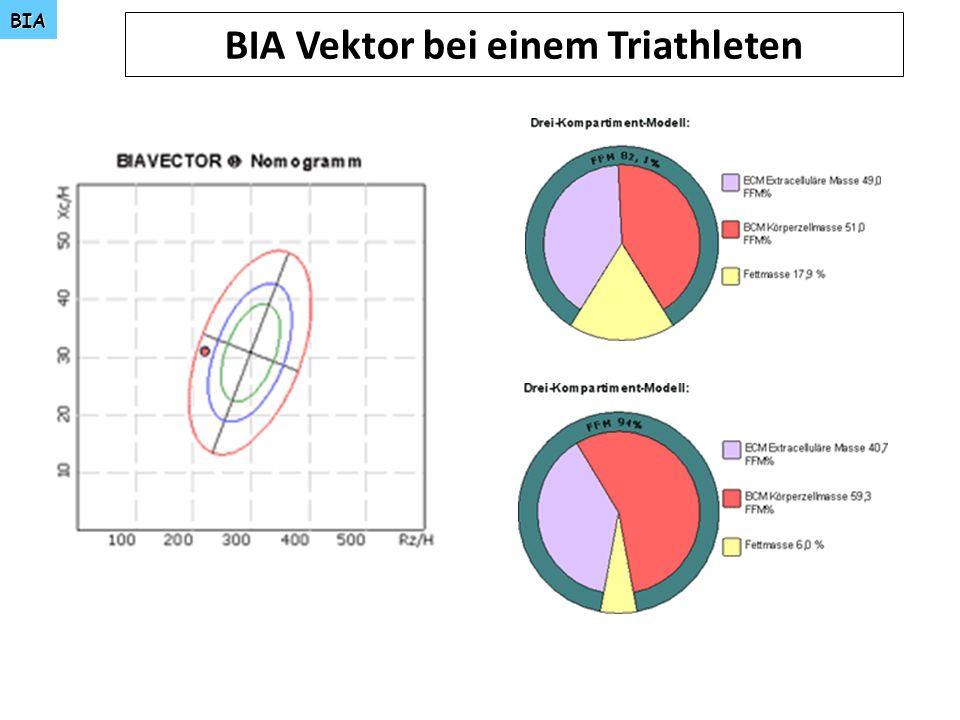 BIA BIA Vektor bei einem Triathleten