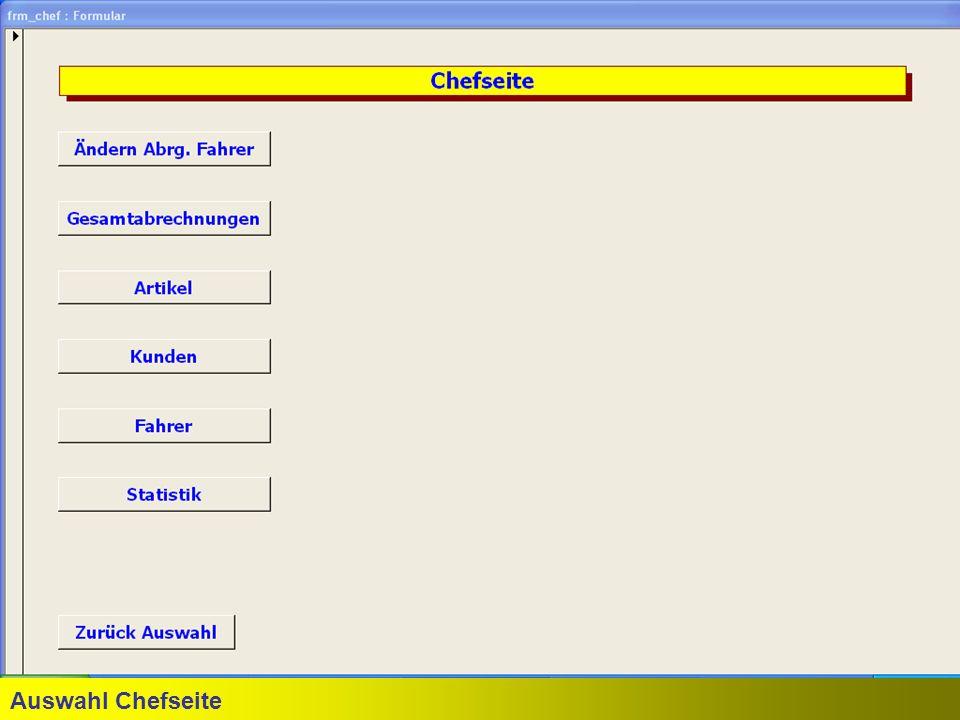 Auswahl Chefseite