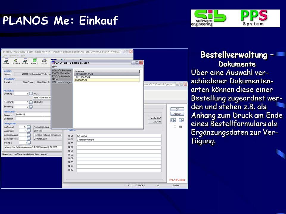 PLANOS Me: Einkauf Bestellverwaltung – Outlookintegration Termindaten, hier als Bei- spiel im Aktivitäteninfo, können im Dialog in die Terminplanung O