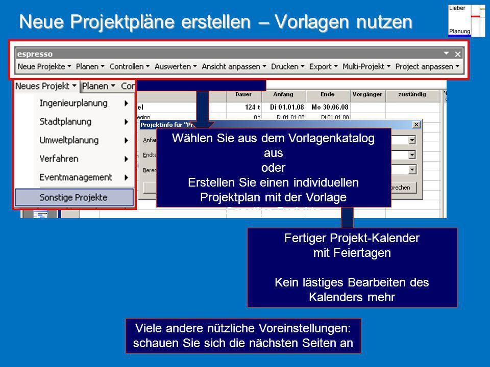 Automatisches Zuweisen von Balkenfarben zu verschiedenen Ressourcen Ihr Wunsch: Einfaches und systematisches Zuweisen unterschiedlicher Balkenfarben zu frei definierbaren Ressourcengruppen z.B.blau Personal Abt.