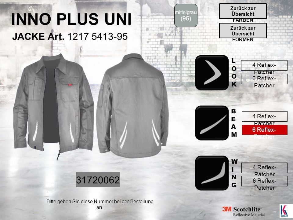 INNO PLUS UNI JACKE Art.
