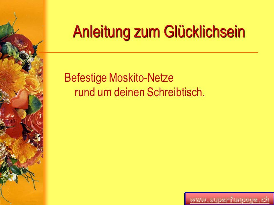 www.superfunpage.ch Anleitung zum Glücklichsein Xena_Göttin_des_Feuers@agg.at Elvis_the_king@agg.at Bestehe darauf, dass du die eMail-Adresse Xena_Göttin_des_Feuers@agg.at oder Elvis_the_king@agg.at bekommst.