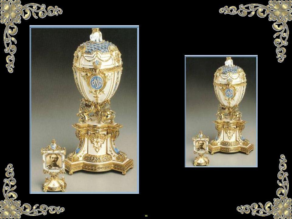 54 Faberge-Eier wurden ausschließlich für die Zarenfamilie erzeugt? Trotzdem schenkte der Milliardär und Besitzer der Gold Siberian, Ferdinandovitch A