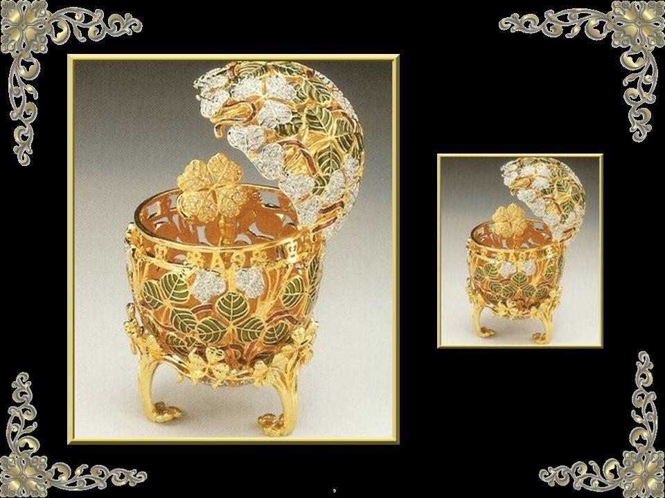 49 Wenn 2 Eier fehlen...sind sie sicherlich im Besitz von Fabergé, der anonym bleiben möchte.