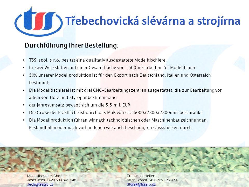 Třebechovická slévárna a strojírna TSS, spol. s r.o.