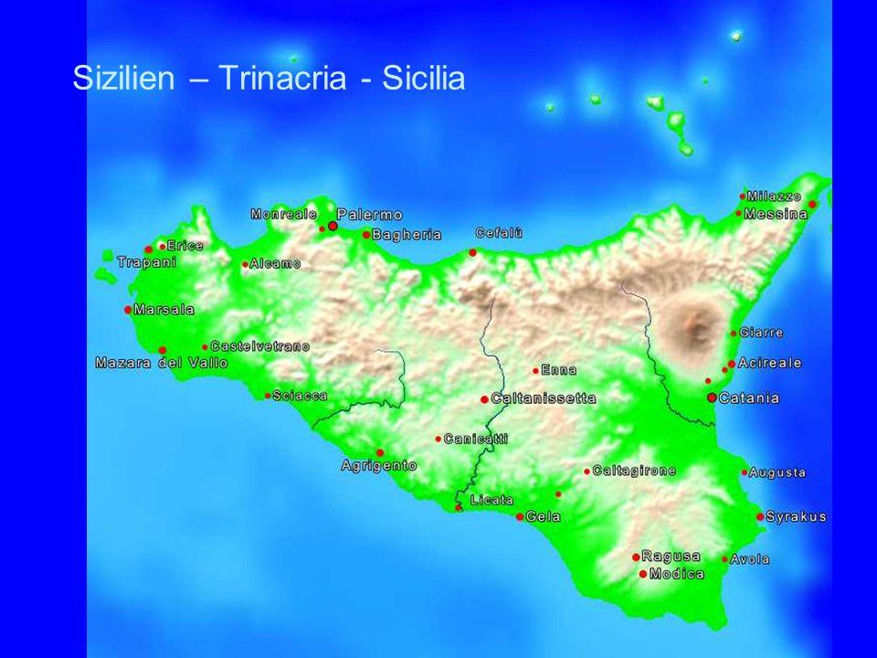Sizilien – Trinacria - Sicilia