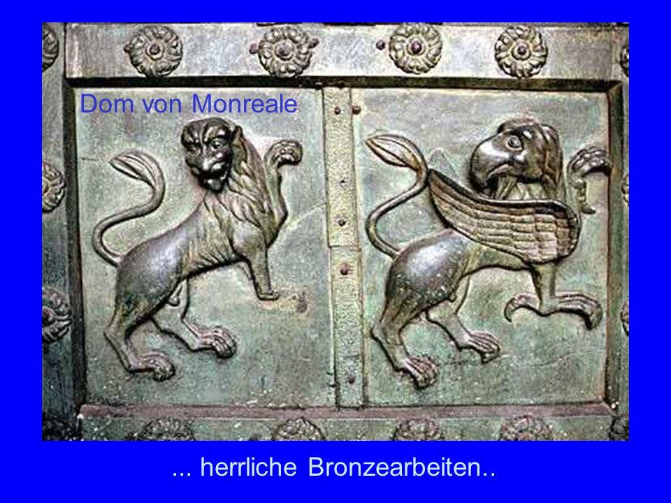 ... herrliche Bronzearbeiten.. Dom von Monreale