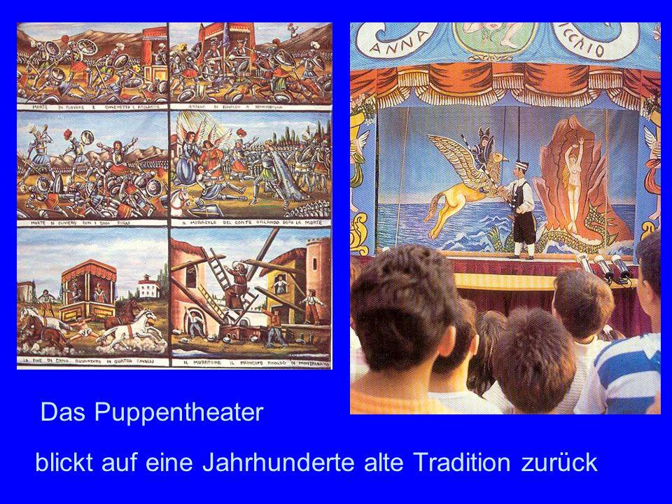 blickt auf eine Jahrhunderte alte Tradition zurück Das Puppentheater
