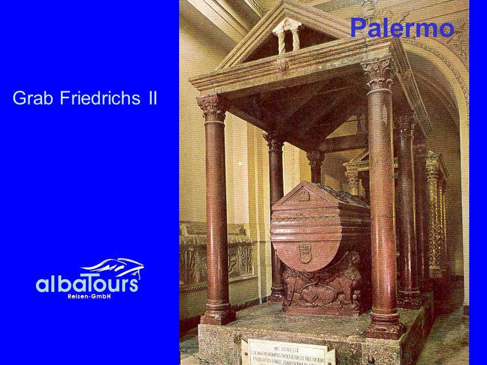 Grab Friedrichs II Palermo