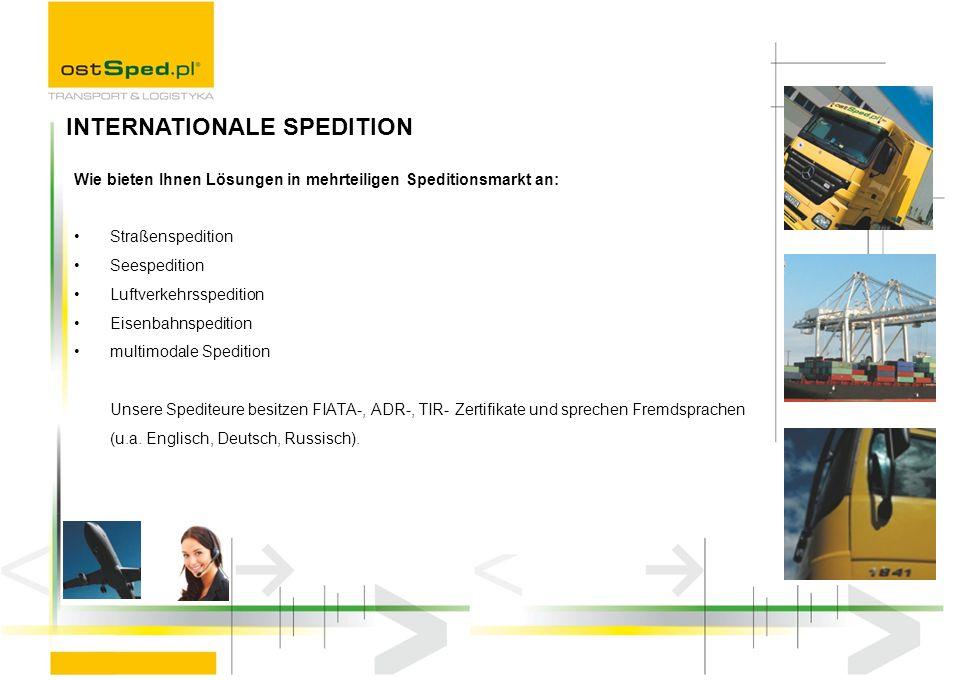 Wie bieten Ihnen Lösungen in mehrteiligen Speditionsmarkt an: Straßenspedition Seespedition Luftverkehrsspedition Eisenbahnspedition multimodale Spedi