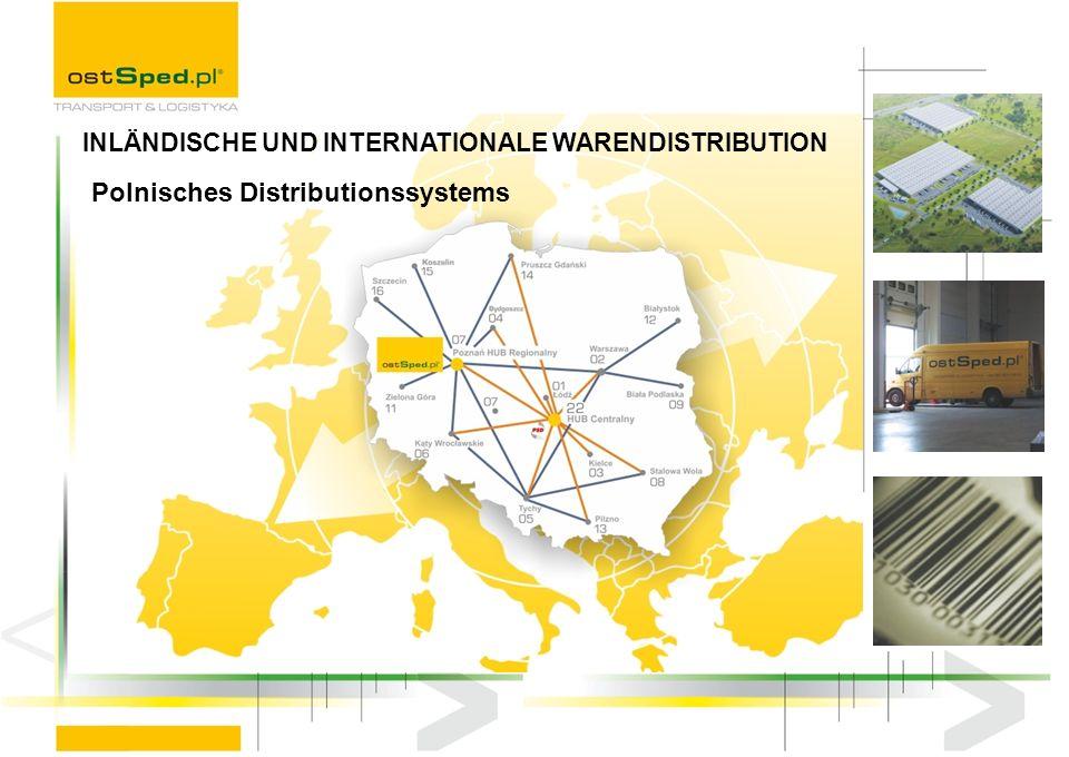 Polnisches Distributionssystems INLÄNDISCHE UND INTERNATIONALE WARENDISTRIBUTION
