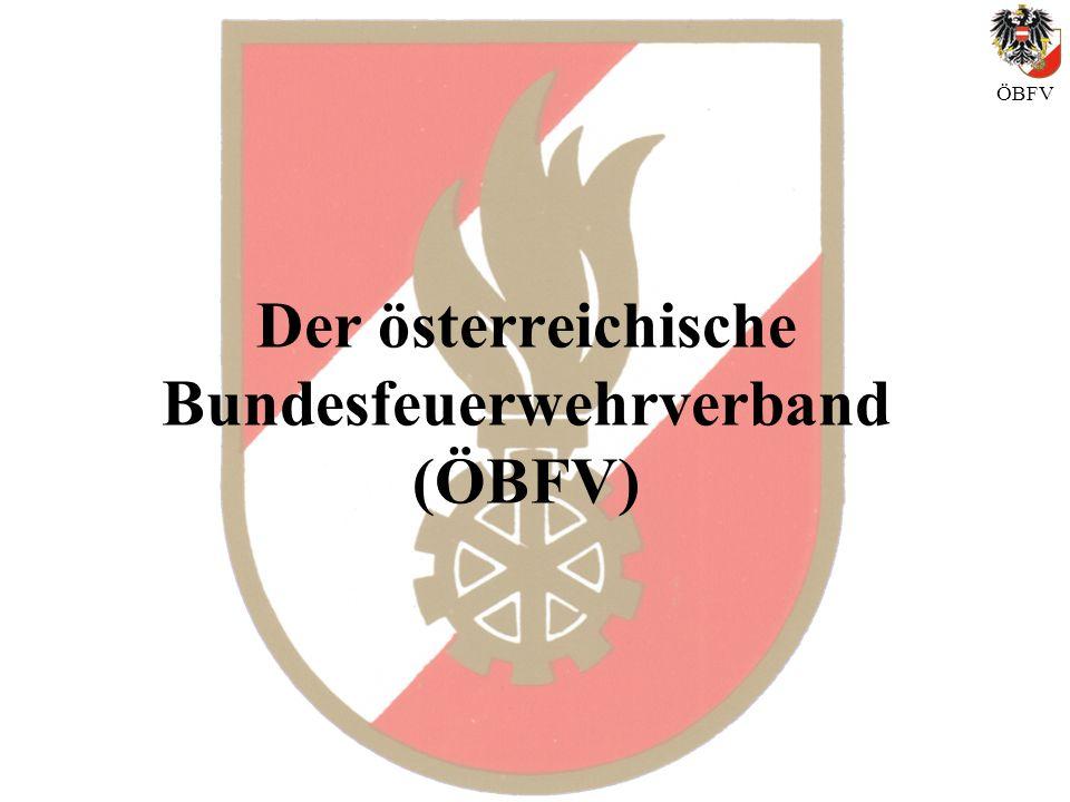 Der österreichische Bundesfeuerwehrverband (ÖBFV) ÖBFV