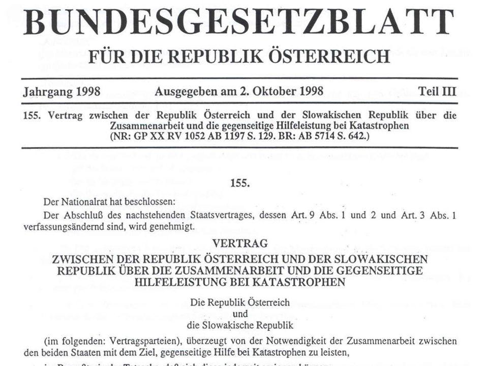 Katastrophenhilfsdienst der Feuerwehr ÖBFV Zur Vorbereitung auf überörtliche Katastrophenfälle haben die österreichischen Feuerwehren den Katastrophenhilfsdienst (KHD), im Sinne der KHD-Gesetze der Bundesländer, auf- zustellen.
