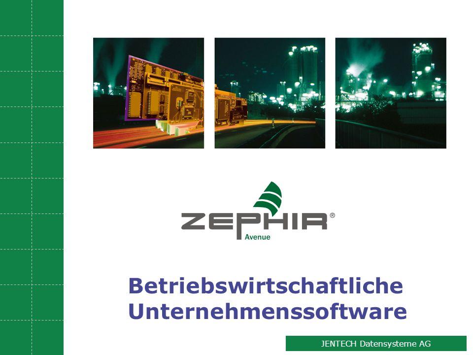 JENTECH Datensysteme AG Betriebswirtschaftliche Unternehmenssoftware