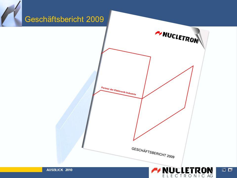 Geschäftsbericht 2009 AUSBLICK 2010