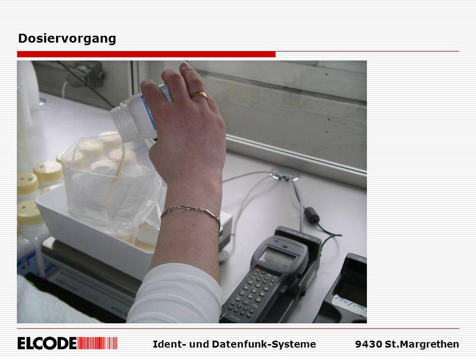 Ident- und Datenfunk-Systeme9430 St.Margrethen Dosiervorgang