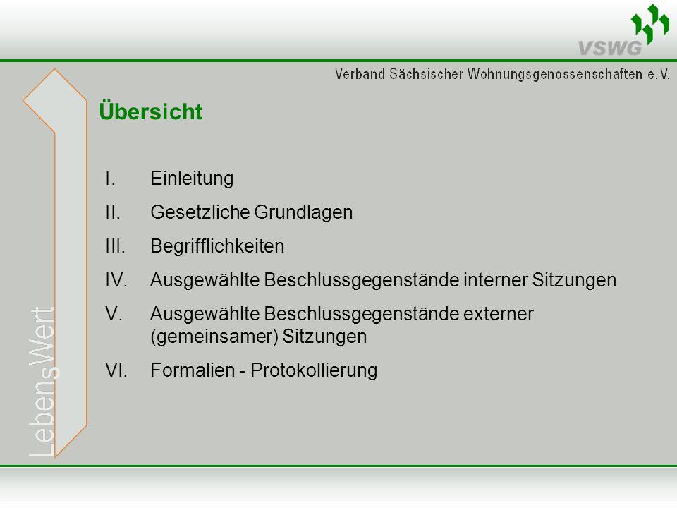 Gesetzliche Grundlagen Gesetzliche Grundlage - § 36 Abs.