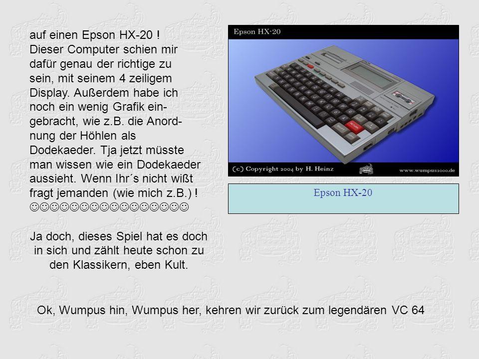 auf einen Epson HX-20 .