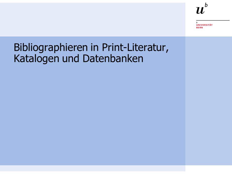 2 Über die Präsentation In der folgenden Präsentation erfahren Sie Grundlegendes über das Bibliographieren in Print-Literatur, Katalogen und Datenbanken Die Präsentation dauert sechs Minuten Bleiben nach der Präsentation noch Fragen offen, so können Sie sich jederzeit an das Bibliothekspersonal wenden