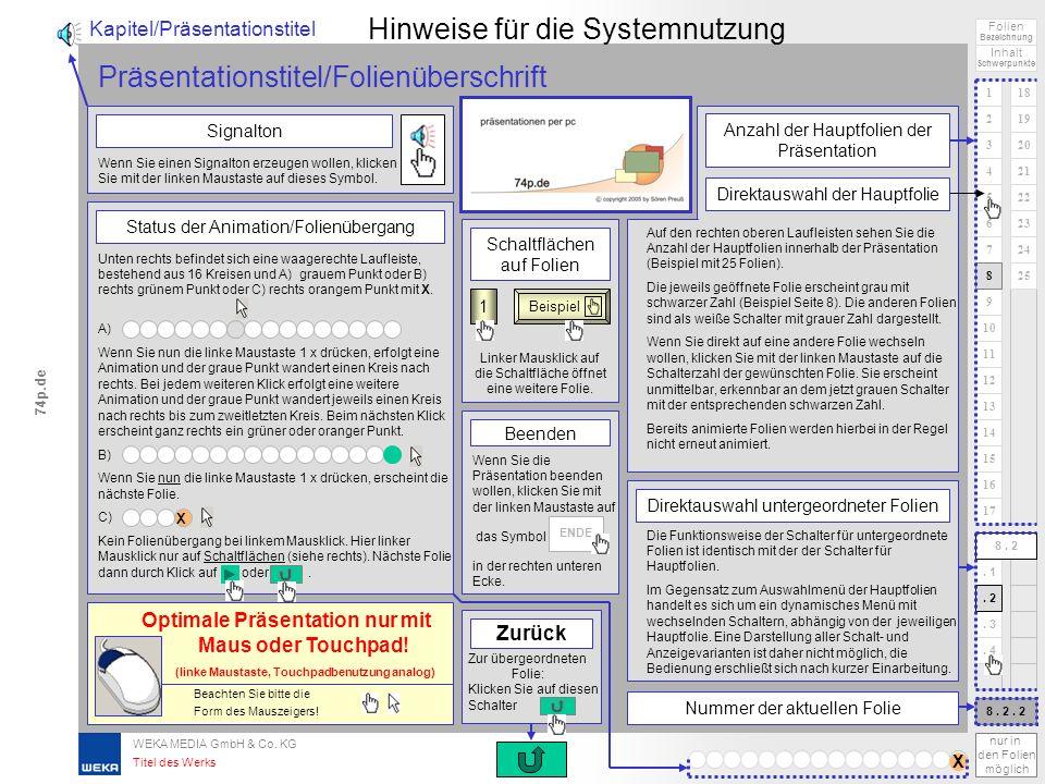 WEKA MEDIA GmbH & Co. KG Atemschutz ENDE HILFE 1 2 3 4 5 6 Folien Inhalt 74p.de praktische Erfahrungen als Atemschutzgerätewart regelmäßige Fortbildun