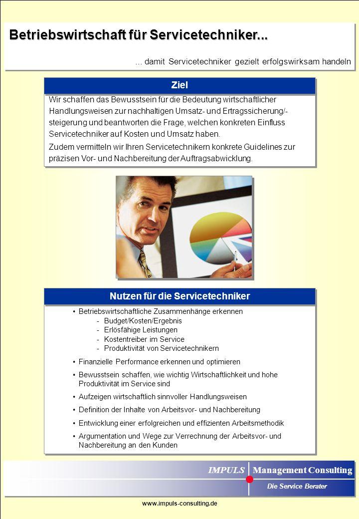 Das Ziel der Schulung ist es, die: Mitarbeiter im Ersatzteilvertrieb (Innendienst) bestmöglich für einen aktiven Vertrieb der Ersatzteile über das Telefon / Mail zu qualifizieren.