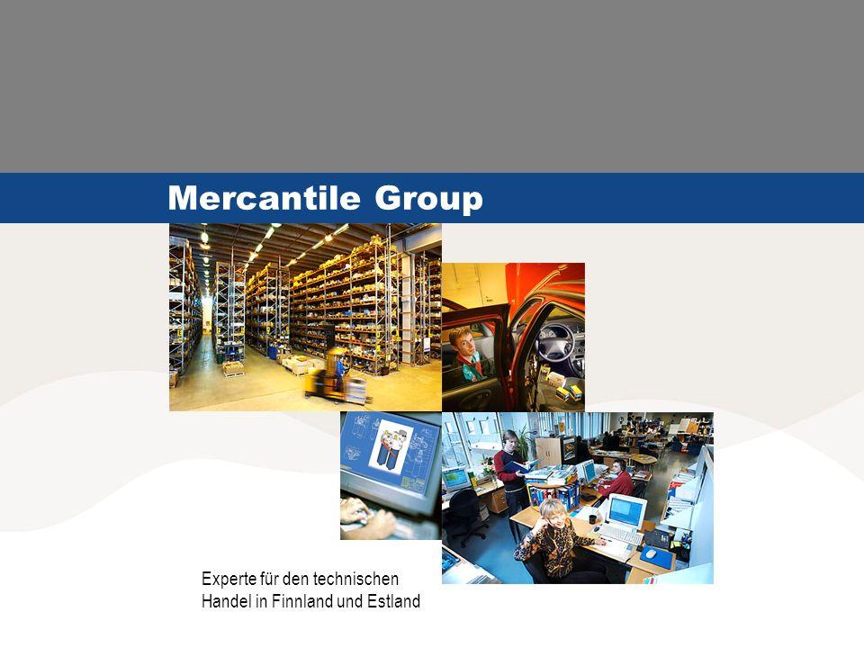 Mercantile Group Experte für den technischen Handel in Finnland und Estland