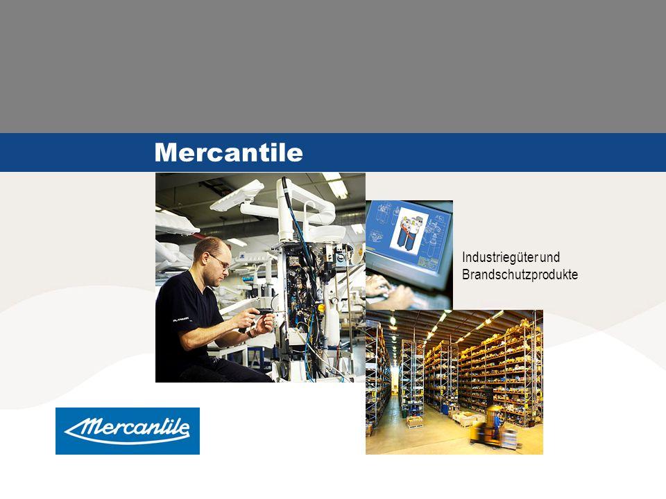 Mercantile Industriegüter und Brandschutzprodukte