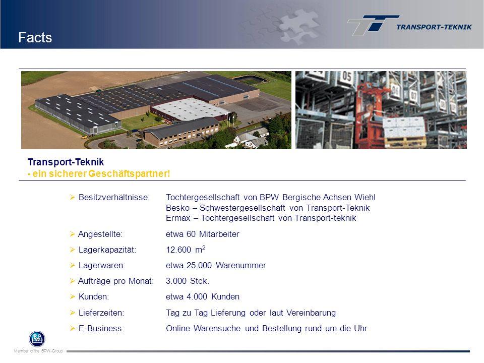 Member of the BPW-Group Besitzverhältnisse:Tochtergesellschaft von BPW Bergische Achsen Wiehl Besko – Schwestergesellschaft von Transport-Teknik Ermax