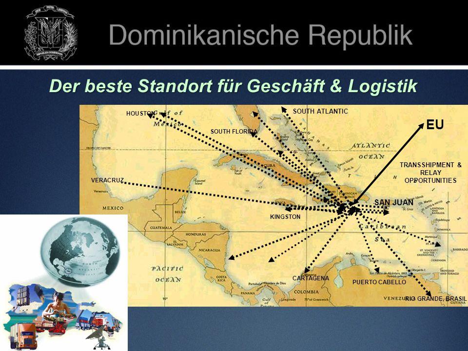 EU SOUTH FLORIDA HOUSTON RIO GRANDE, BRASIL VERACRUZ CARTAGENA KINGSTON TRANSSHIPMENT & RELAY OPPORTUNITIES PUERTO CABELLO SAN JUAN SOUTH ATLANTIC Der