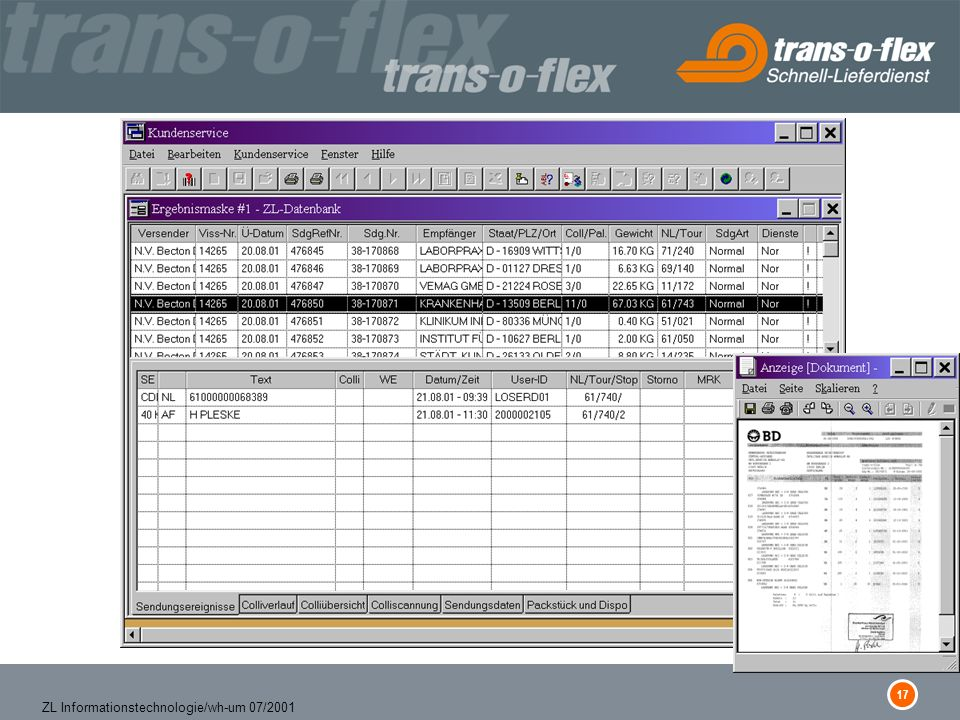 17 ZL Informationstechnologie/wh-um 07/2001