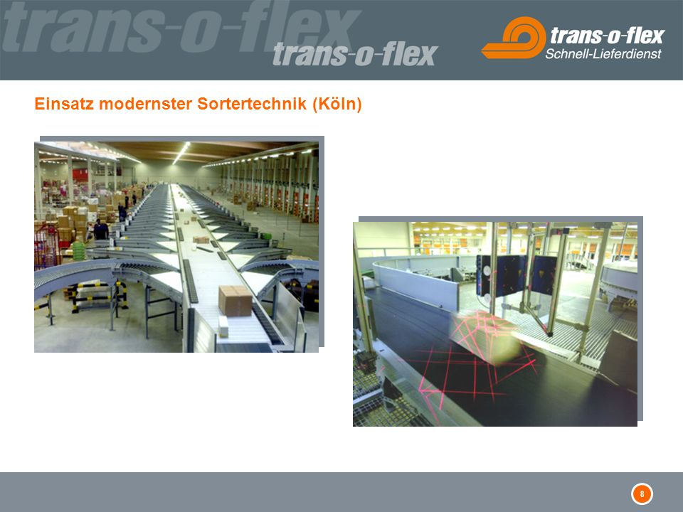 8 Einsatz modernster Sortertechnik (Köln)