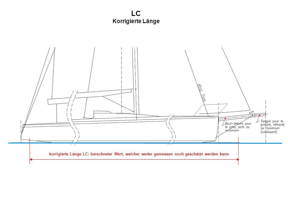 LC Korrigierte Länge korrigierte Länge LC: berechneter Wert, welcher weder gemessen noch geschätzt werden kann