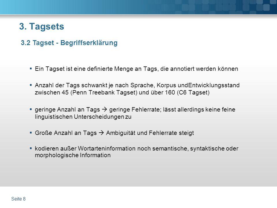 Wortarten-Tagging für Nomen Markus Gündert Projekt Modul 2
