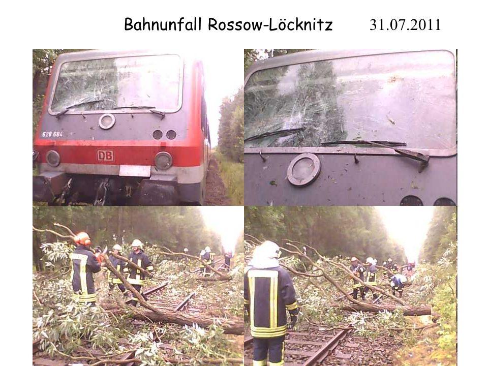 Bahnunfall Rossow-Löcknitz 31.07.2011