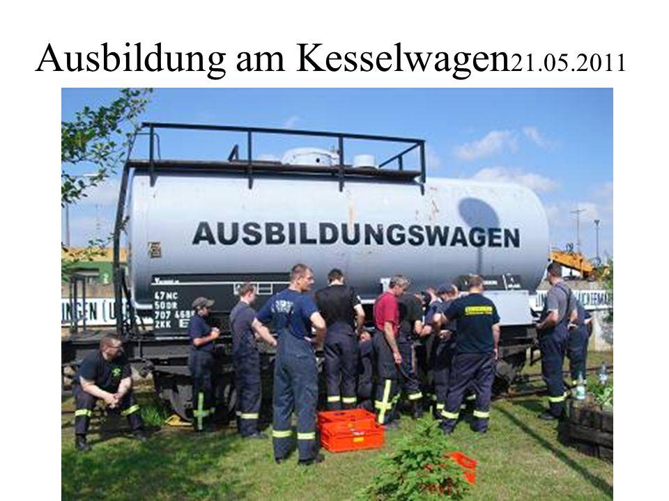 Ausbildung am Kesselwagen 21.05.2011
