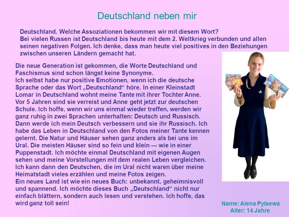 Deutschland neben mir Die neue Generation ist gekommen, die Worte Deutschland und Faschismus sind schon längst keine Synonyme. Ich selbst habe nur pos