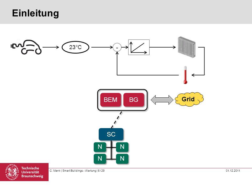 C.Mank | Smart Buildings - Wartung | 7 / 29 01.12.2011 Einleitung Warum Wartung.