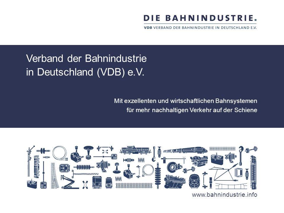www.bahnindustrie.info Kontakt Herr Maxim Weidner Referent für Marktentwicklung Tel.: +49.30.20 62 89 -65 Fax: +49.30.20 62 89 -50 weidner@bahnindustr
