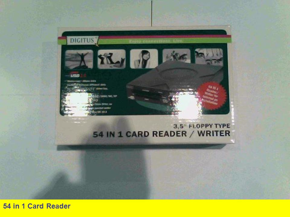54 in 1 Card Reader