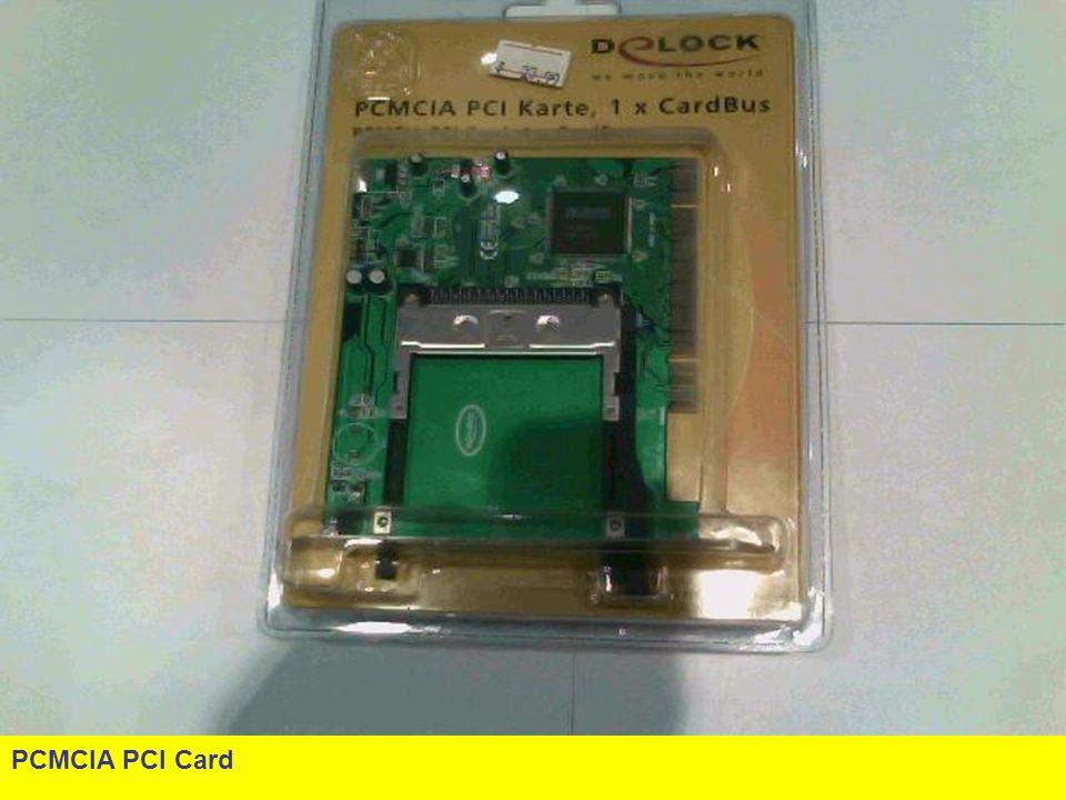 PCMCIA PCI Card