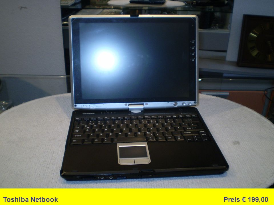 Toshiba Netbook Preis 199,00