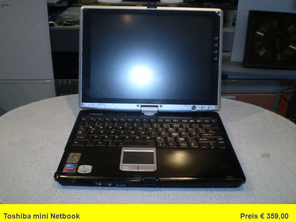 Toshiba mini Netbook Preis 359,00