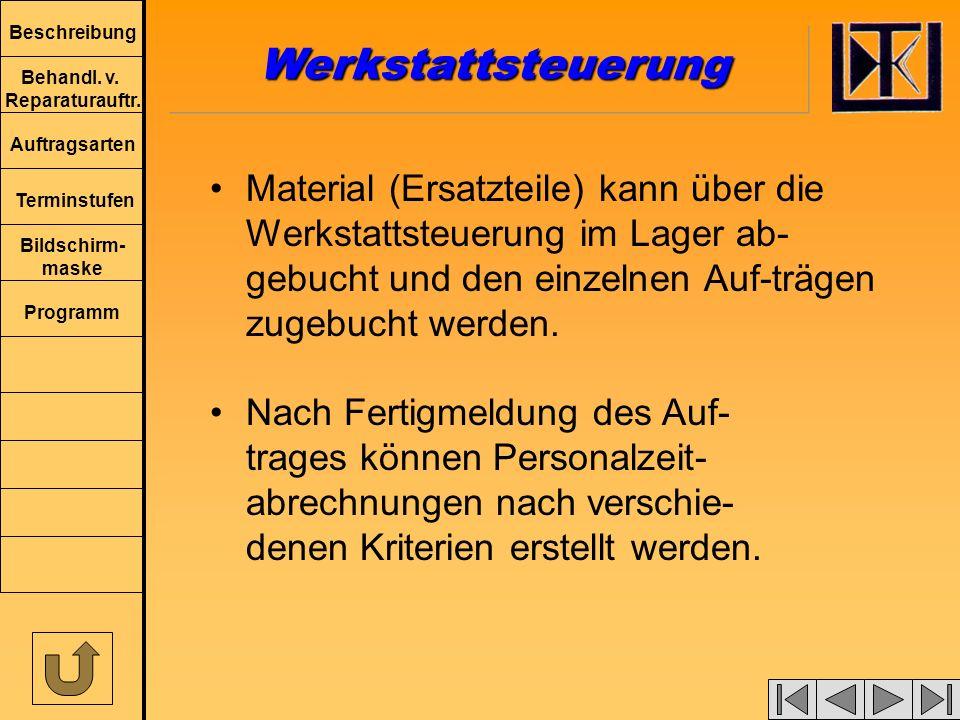 Beschreibung Behandl.v. Reparaturauftr.