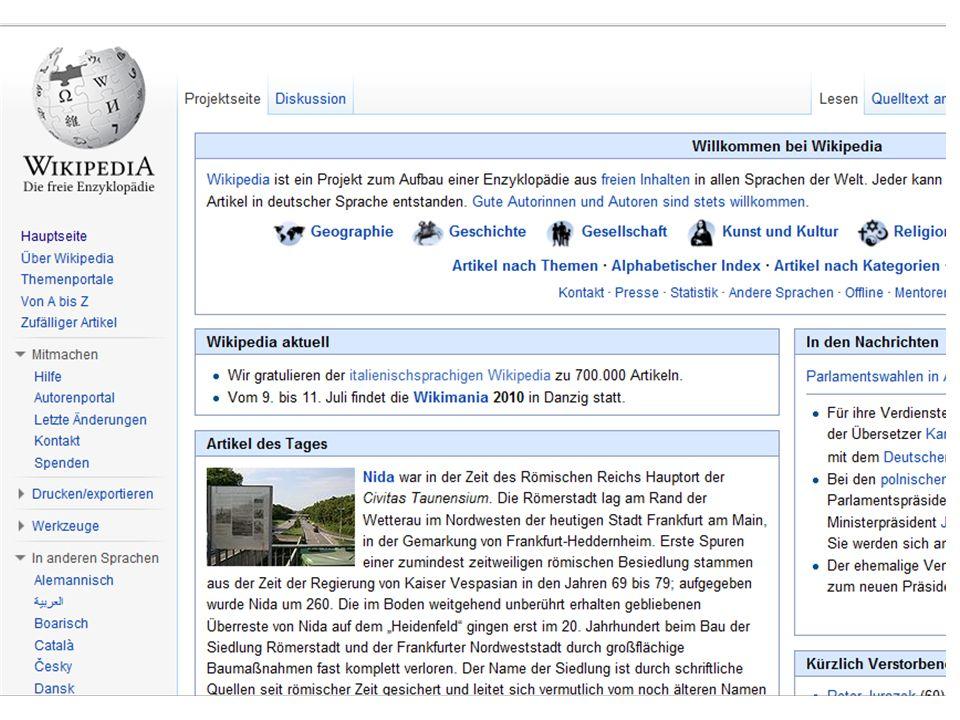 25.01.2011 Wikipedia
