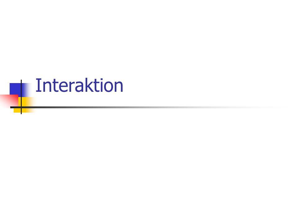 Interaktion